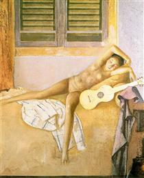 Nude with a Guitar - Бальтюс