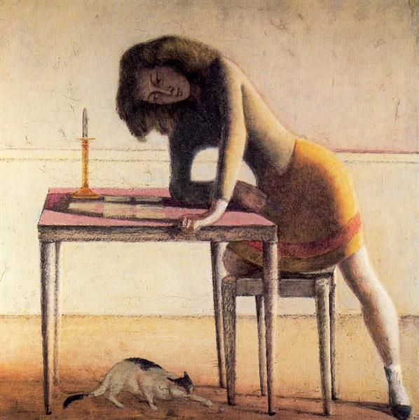 Patience, 1955 - Balthus
