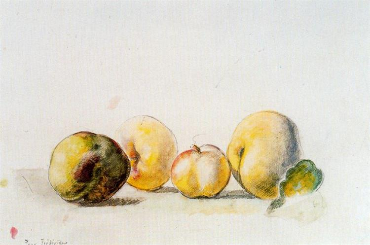 Still Life (quince and pear), 1956 - Balthus
