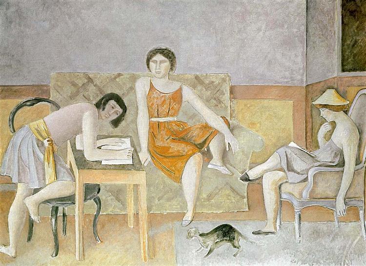 Three sisters, c.1965 - Balthus