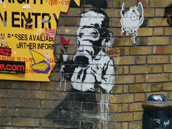 Brick Lane, East End, 2004 - Banksy