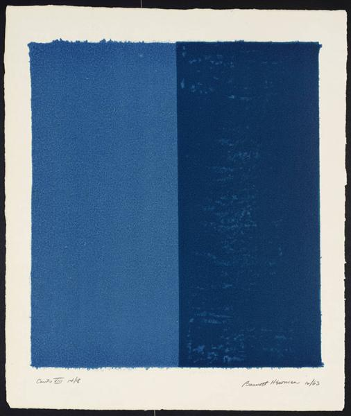 Canto VIII, 1963 - 1964 - Barnett Newman