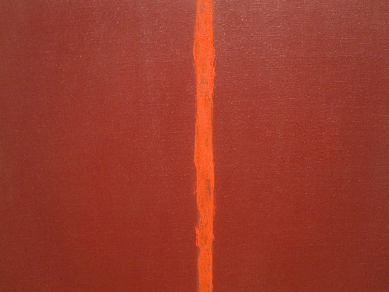 Barnett Newman Color Field Paintings