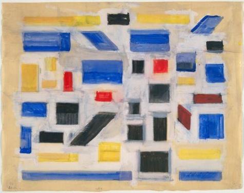 Untitled, 1917 - Bart van der Leck