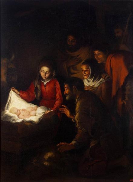 Adoration of the Shepherds, 1646 - 1650 - Bartolome Esteban Murillo