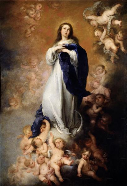 Immaculate Conception of Soult - Bartolome Esteban Murillo