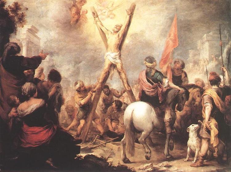 The Martyrdom of St. Andrew, 1675 - 1682 - Bartolome Esteban Murillo