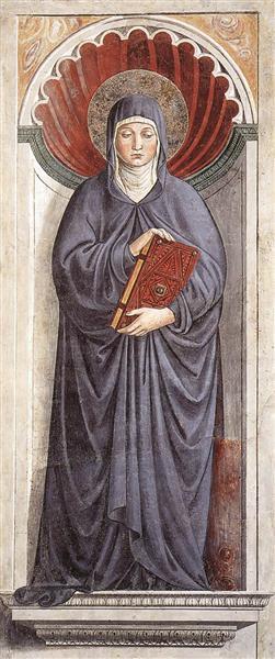 St. Monica, 1464 - 1465 - Benozzo Gozzoli