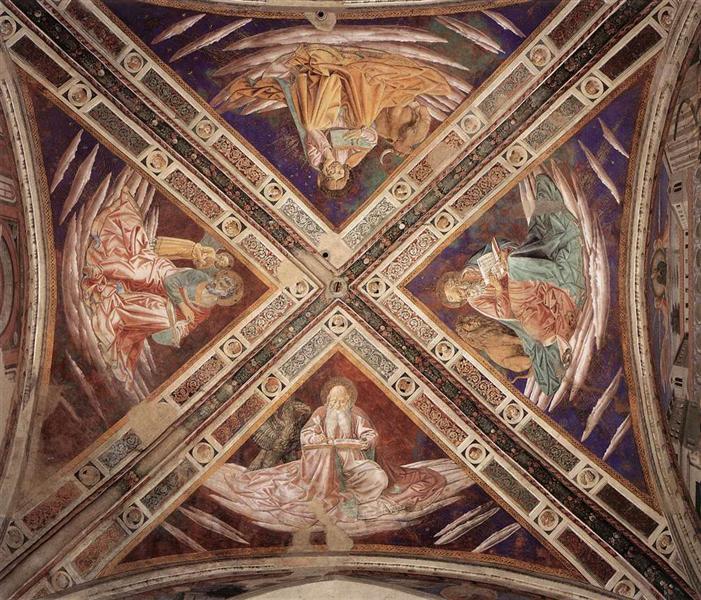 Vista de las Bóvedas - Benozzo Gozzoli