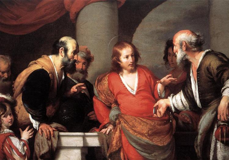 Tribute Money, c.1631 - Bernardo Strozzi