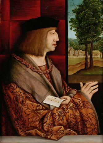 Emperor Maximilian I 1459 1519 Bernhard Strigel