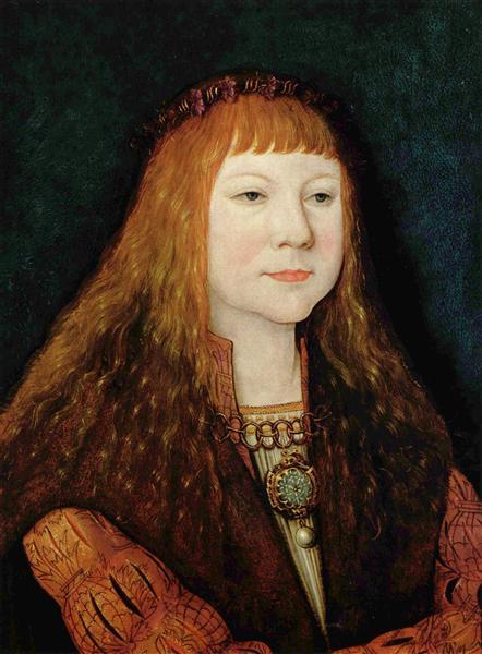 Portrait of Louis II of Hungary, 1515 - Bernhard Strigel