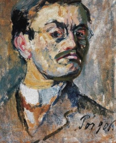 Self-Portrait, 1906 - Bertalan Pór
