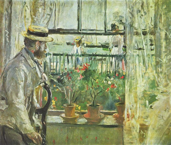 Eugene Manet on the Isle of Wight, 1875 - Берта Моризо