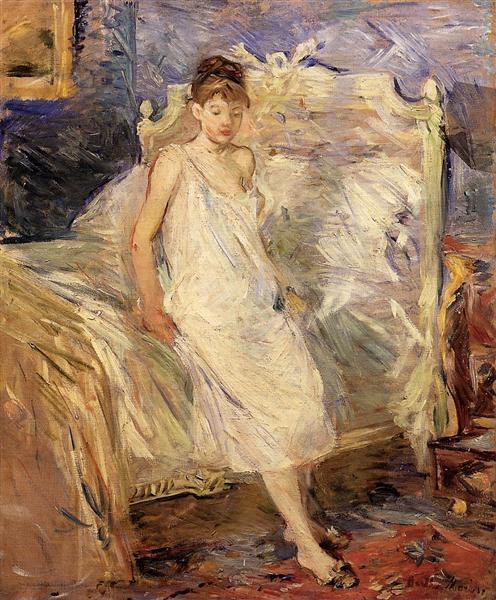 Getting Up, 1885 - 1886 - Berthe Morisot