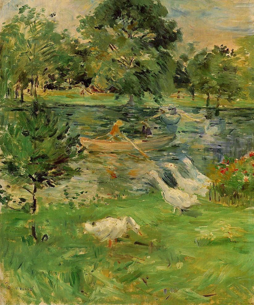 Art History News Berthe Morisot At Auction And At The