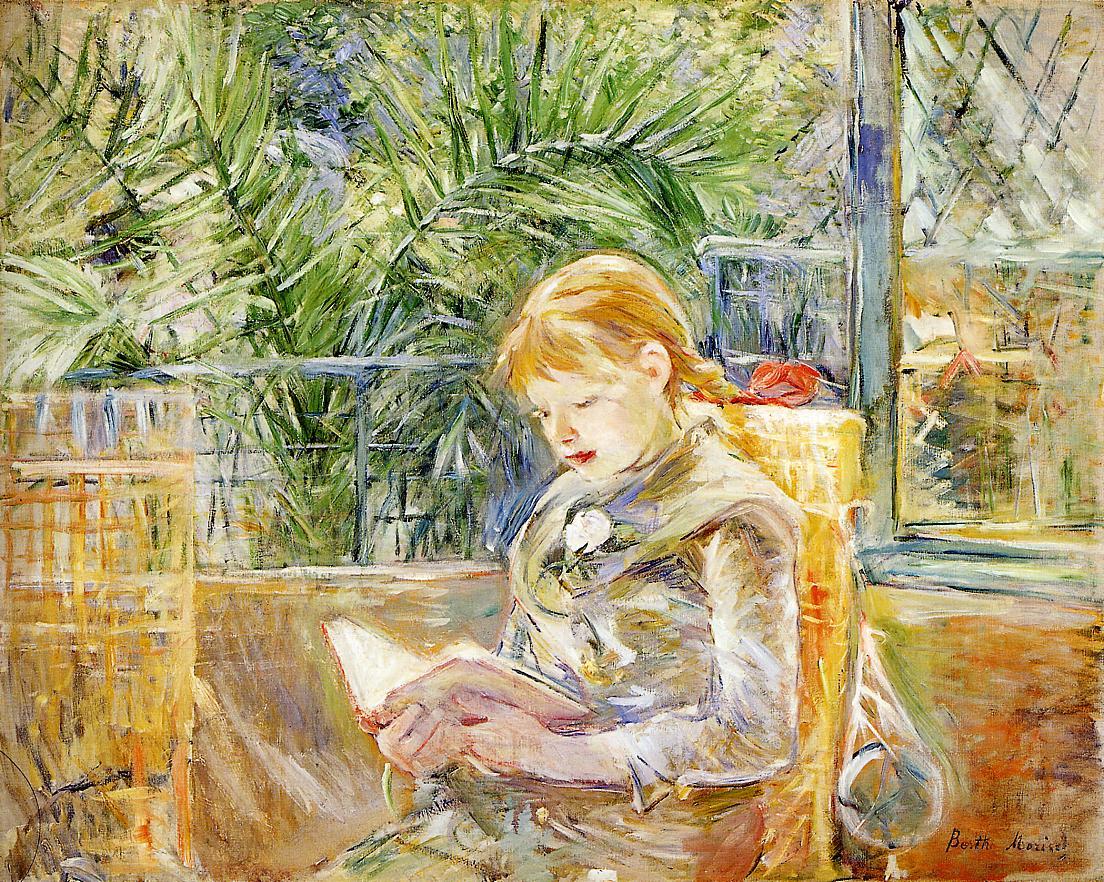 Reading — Berthe Morisot – Biblioklept