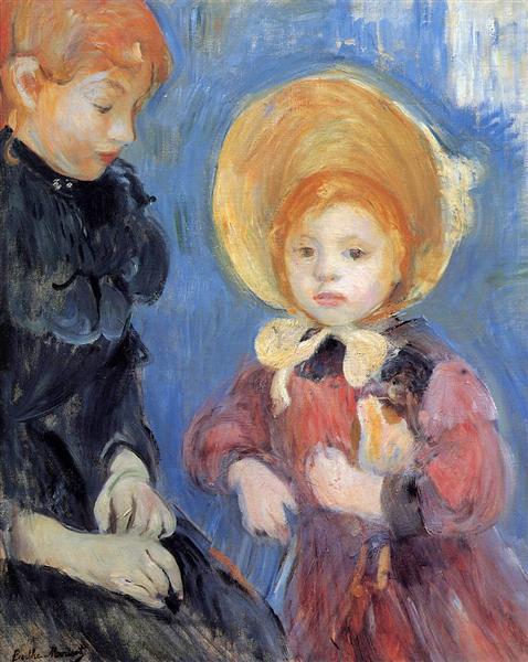 The Black Finger Bandage, 1894 - Berthe Morisot