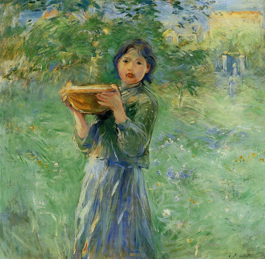 Berthe Morisot The-bowl-of-milk