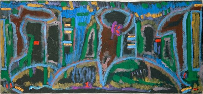 Garden in Saint Denis, 1980 - Betty Parsons