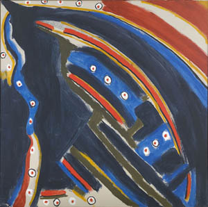 Gold Stopple Moonshot, 1972 - Betty Parsons