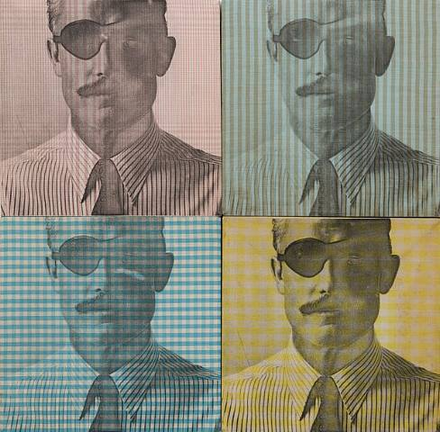 The Man in the Hathaway Suit 1-4, 1964 - Billy Apple