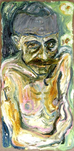 Self Portrait in Hat, c.2003 - Billy Childish