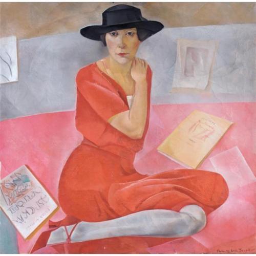 Salome Andronnikova, 1924 - Boris Grigoriev