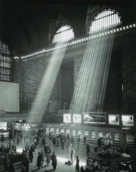 Grand Central Station. New York City, 1957 - Brassai