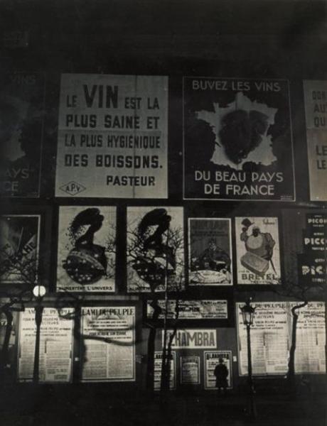 Sans titre (Le Vin est la plus saine), 1932 - Brassai