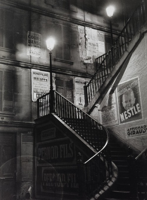 Staircase in the rue Rollin, 1934