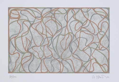 Distant Muses, 2000 - Brice Marden