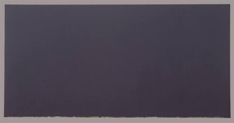 The Dylan Painting, 1966 - Brice Marden