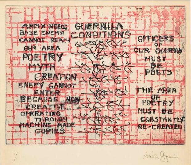 Guerilla Conditions - Brion Gysin