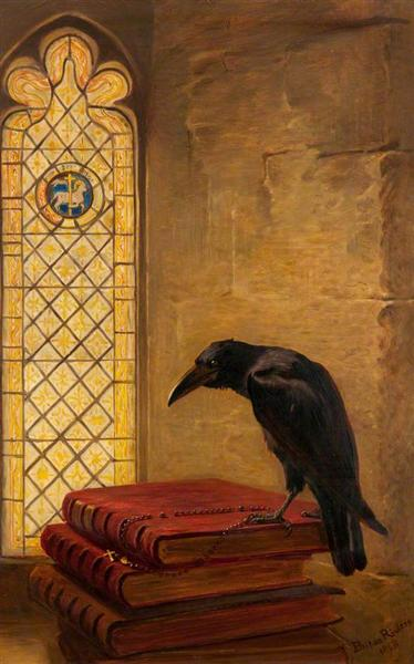A Saint, from the 'Jackdaw of Rheims', 1868 - Briton Riviere