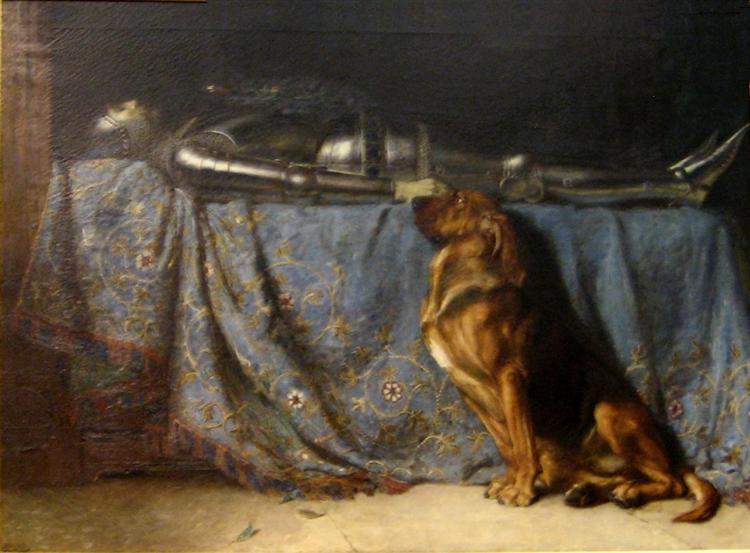 Requiescat, 1888 - Briton Rivière
