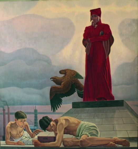 Il trionfo dello spirito sulla materia, 1935 - Cagnaccio di San Pietro