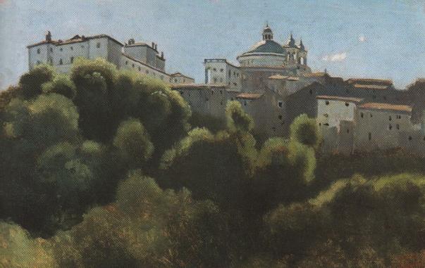 Ariccia, Palazzo Chigi - Camille Corot