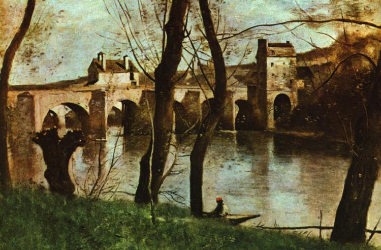 The Bridge at Nantes, 1868 - 1870 - Camille Corot