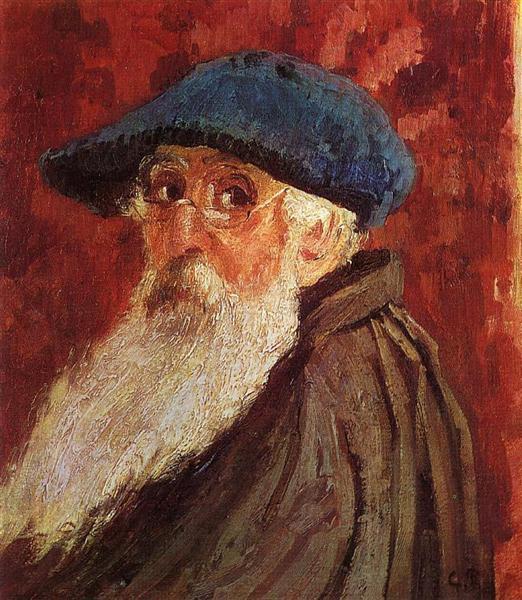 Self Portrait, c.1900 - Камиль Писсарро