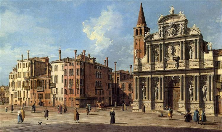 Santa Maria Zobenigo, c.1765 - Giovanni Antonio Canal
