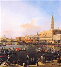 Venezia, Bacino di San Marco il giorno dell'Ascensione - Canaletto