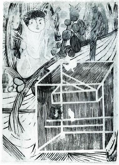 Gaiola I - do livro Menino de Engenho, 1959 - Кандіду Портінарі