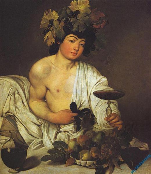Bacchus, c.1596 - Le Caravage