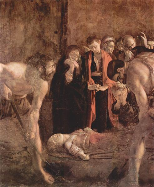 Burial of Saint Lucy, 1608 - Caravaggio