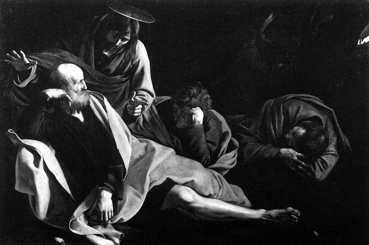 Christ on the Mount of Olives, 1605 - Caravaggio