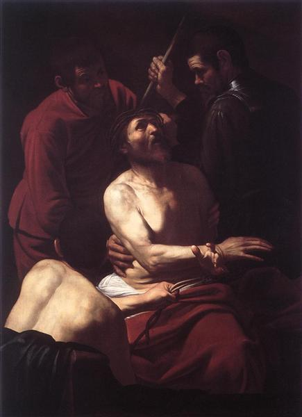 Crowning with Thorns, 1603 - Caravaggio