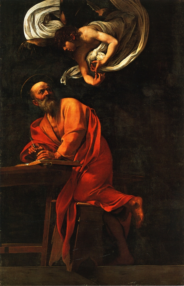 Saint Matthew and the Angel by - 545.8KB