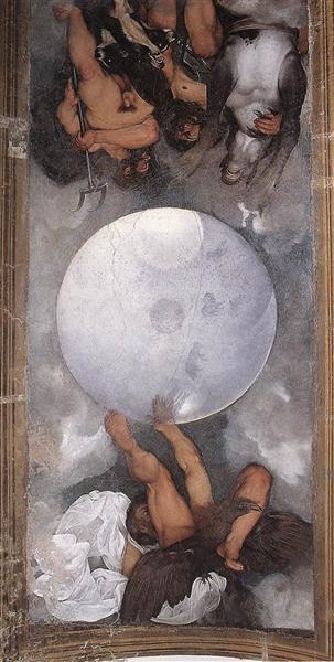 Jupiter, Neptune and Pluto, c.1597 - Caravaggio