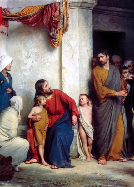Suffer the Children - Carl Heinrich Bloch